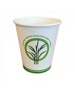 Bagasse/PLA koffiebeker 12oz/360ml/90mm Ø, verpakt per 50 stuks