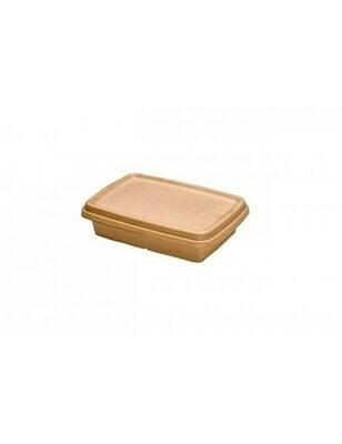 Bagasse deksel voor box 600ml/950ml/1050ml Verpakt 300 stuks