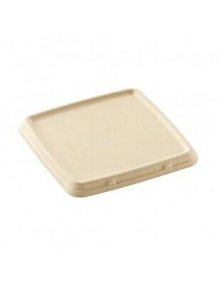 Bagasse deksel voor box 1000ml/1500ml Verpakt 300 stuks