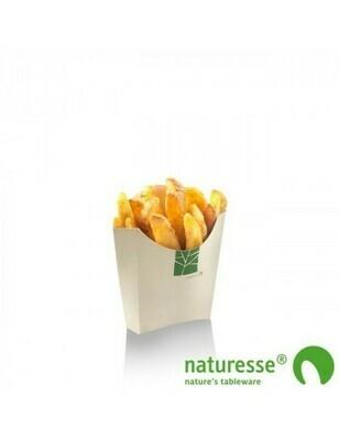Paperwise frites scoop cup 90x100x40mm Verpakt per 1200 stuks