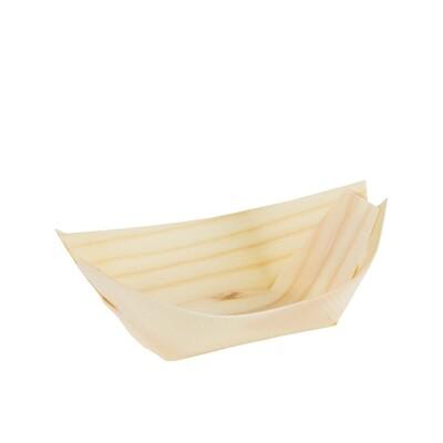 FSC® houten bootje 92x52mm M Verpakt per 1000 stuks