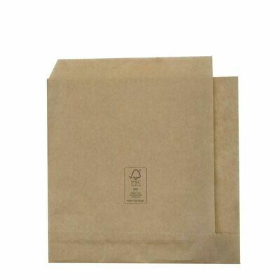 FSC® papieren hamburgerzakje 15x16cm, verpakt per 1000 stuks
