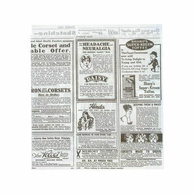 Vetvrij snackzakje krant 17x18cm, verpakt per 500 stuks