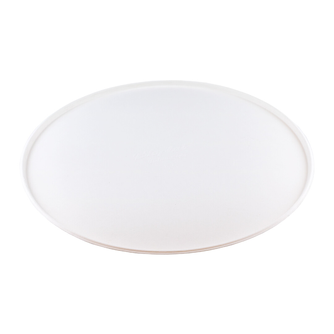 Bagasse bord 23cm Ø Verpakt per 500 stuks