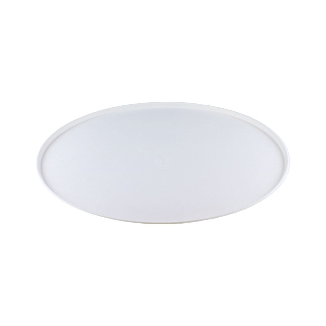 Bagasse bord 26cm Ø Verpakt per 500 stuks