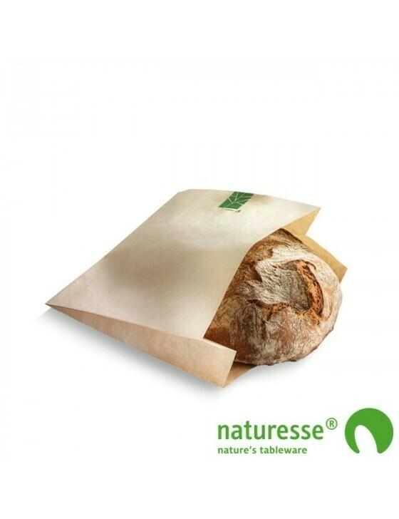 Paperwise broodzakje 230x210x(2x35)mm Verpakt per 500 stuks
