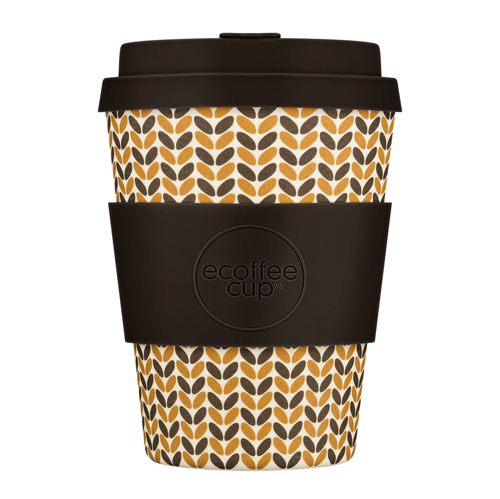 "Ecoffee cup ""Threadneedle"" 12oz/350ml"