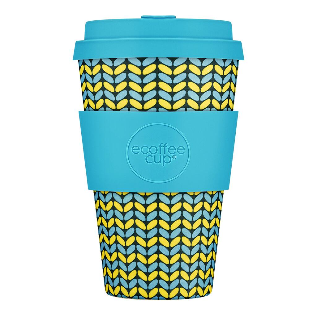 """Ecoffee cup """"Norweaven"""" 14oz/400ml"""