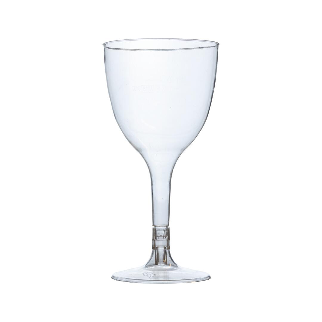 PLA wijnglas 100ml, verpakt per 105 stuks