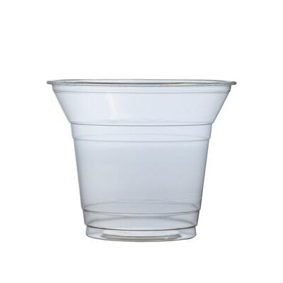 PLA salade shaker 200ml/9,6cm Ø, verpakt per 50 stuks
