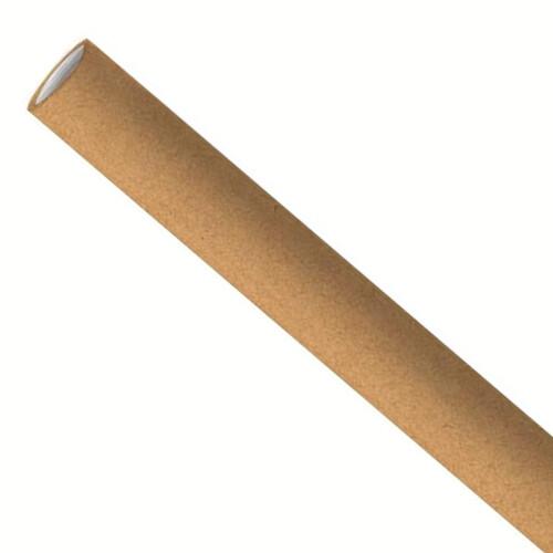 Premium papieren rietjes 8x240mm kraft, verpakt per 5000 stuks