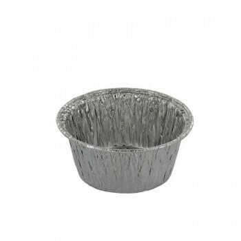 Aluminium bakken 70ml- Ø7,8cm, verpakt per 1000 stuks
