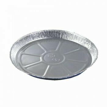 Pizzavormen, alu rond Ø 27 cm · 2,2 cm, verpakt per 250 stuks