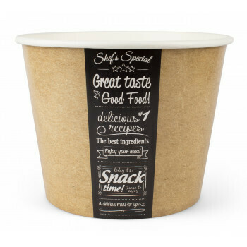 Buckets, Good Food | 130oz, 3800ml. verpakt per 150 stuks
