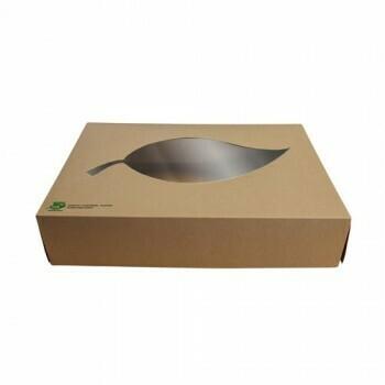 Cateringdozen, maat L (100% FAIR), Karton | 46,5x31,5x8cm,Verpakt per 50 stuks