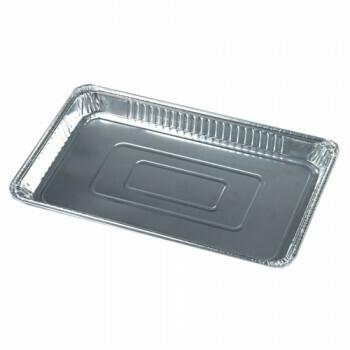 Gastronoom tray, Aluminium | 52.5x32.5x3.7cm, verpakt per 30 stuks