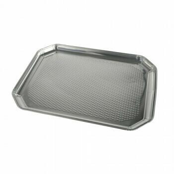 Aluminium serveerschalen 35 cm x 26 cm, verpakt per 45 stuks
