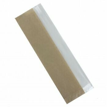 Broodzak (met venster), Papier | 10,5/19x37cm, verpakt per 1500 stuks