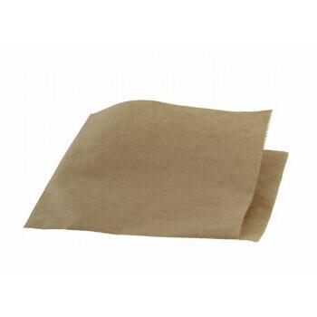 Hamburgerzakken FSC papier 15x16cm, verpakt per 1000 stuks