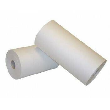 Ersatz papier op rol, Wit | 30cm breed, verpakt per 6kg