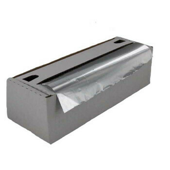 Aluminiumfolie 30 cm x 250 m-11my, verpakt per 6 rollen