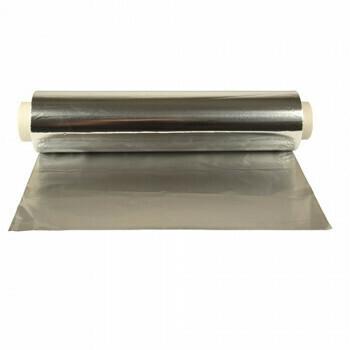 Aluminiumfolie 30 cm x 150 m los, verpakt per 4 rollen