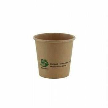 Duurzame sauscups / sausbakjes, Karton (100%FAIR)| 90ml, verpakt per 2000 stuks