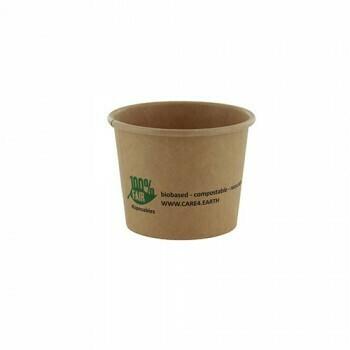 Duurzame sauscups / sausbakjes, Karton (100%FAIR)| 60ml, verpakt per 2000 stuks