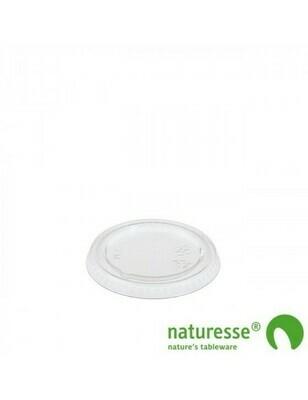 PLA deksel voor sausbakje 30-120ml, verpakt per 2000 stuks