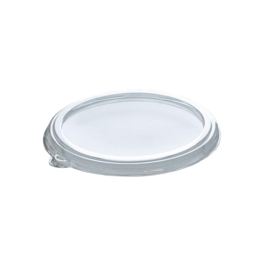 PLA deksel voor container 240,360 en 480ml, verpakt per 500 stuks