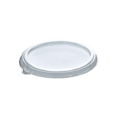 PLA deksel voor container 240,360 en 480ml,  verpakt per 50 stuks