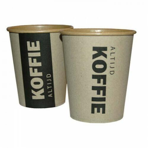 Koffiebekers (Altijd Koffie) | 296ml/10oz- Ø85mm, verpakt per 1000 stuks