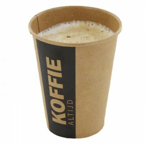 Koffiebekers (Altijd Koffie), Karton   355ml/12oz- Ø89,5mm, verpakt per 1000 stuks