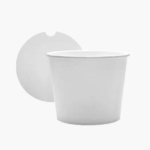 Buckets wit | 64oz, 1800ml. verpakt per 300 stuks