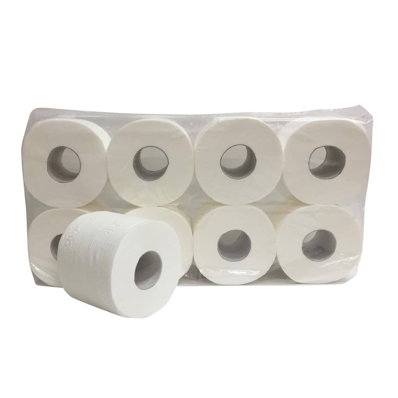 230083 Euro supersoft cellulose toiletpapier, pak van 64 rollen