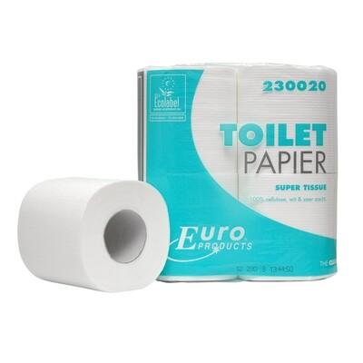 230020 Euro tissue cellulose toiletpapier, pak van 48 rollen