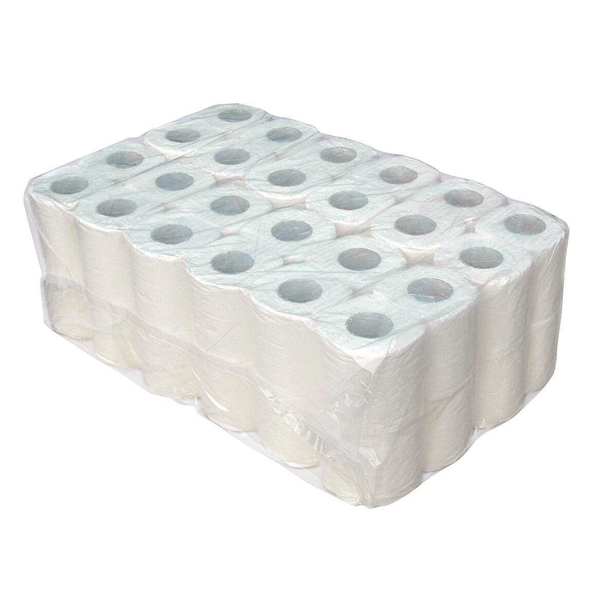 P50629 Euro tissue 100% cellulose 2-laags toiletpapier, pak van 48 rollen