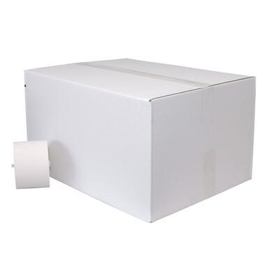 P50600BLK Euro recycled tissue met dop, doos met 36 rollen