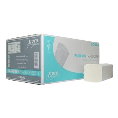 P50669 Z-fold, Euro cellulose, verpakt per 16 bundels