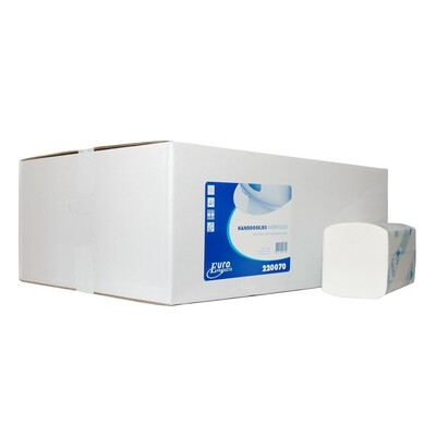 220070 Euro Interfold, cellulose, verpakt per 20 bundels