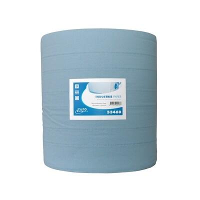 P53460 Euro blauw cellulose industriepapier, per rol
