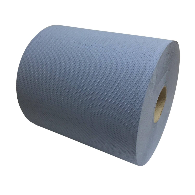 P50107 Euro blauw cellulose industriepapier, verpakt per 2 rollen