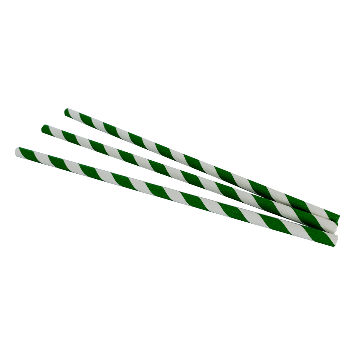 "Papieren rietjes ""Swirl Green"""