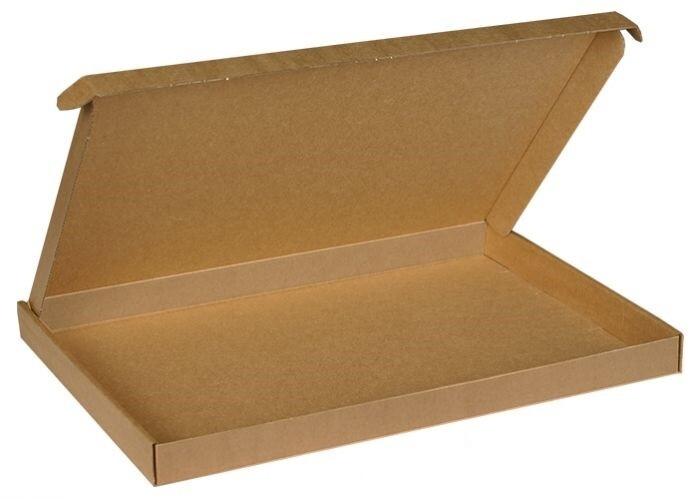 Brievenbusdoos max 37x26x3cm, verpakt per 50 stuks