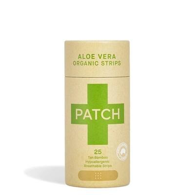 Patch pleisters Aloe Vera Bamboe, hypoallergeen, verpakt per 25 stuks