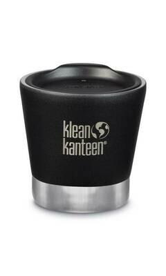 Klean Kanteen geïsoleerde tuimelbeker met deksel, 8oz/237ml, zwart