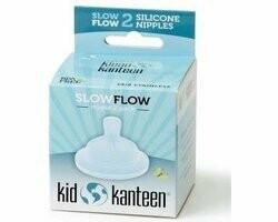 Klean Kanteen babyspeen slow flow, verpakt per 2 stuks