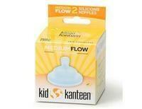 Klean Kanteen babyspeen medium flow, verpakt per 2 stuks