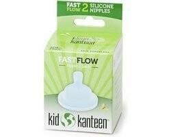 Klean Kanteen babyspeen fast flow, verpakt per 2 stuks