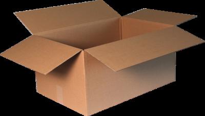 Verzenddoos extra groot hoog 60x40x30cm, verpakt per 25 stuks